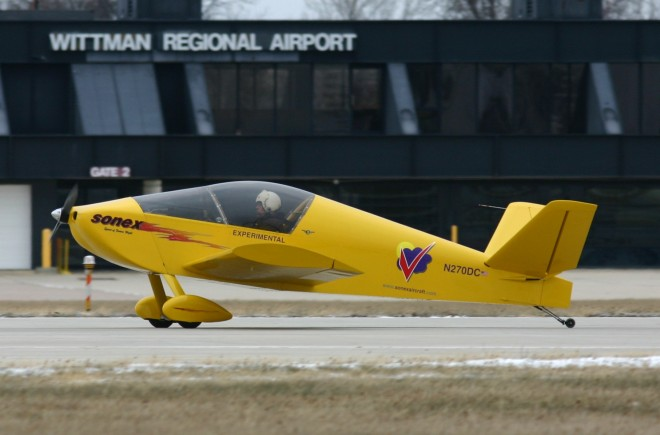 New Electric Plane