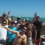 group shots on the beach