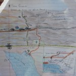 With Lilia's accurate map - getting there was guaranteed!
