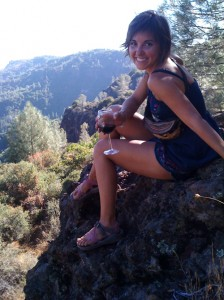 Saving the world is a tough job - Meg at La Rocca Vineyards