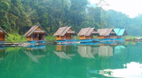 The Floating Bungalows – Cheow Lan Lake, Khao Sok Thailand