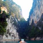 Limestone Cliffs, Khao Sok