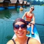 Kayaking Khao Sok