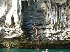 Ton Sai Deep Water Solo Climbing