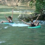 Our Jungle House - River Tubing